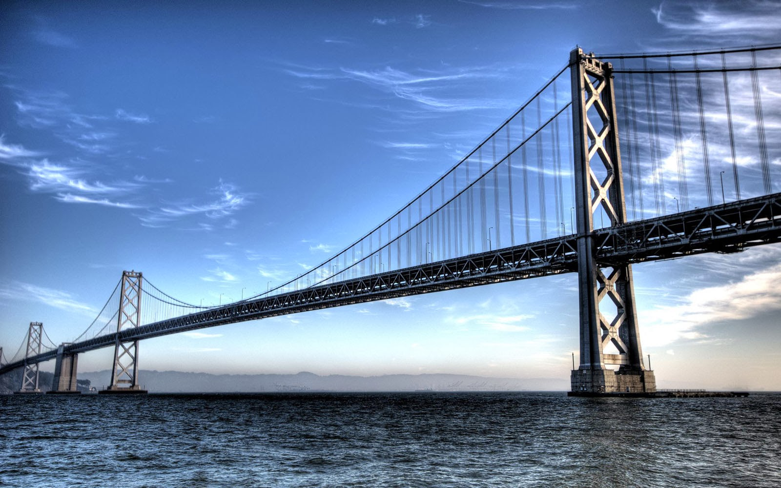 Wallpapers san francisco bay bridge wallpapers for Best windows in the world
