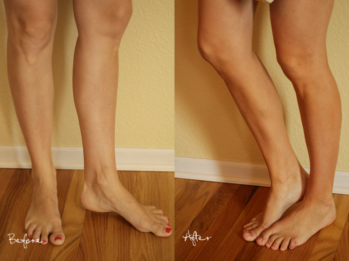Before & After Rodan & Fields Foaming Sunless Tanner