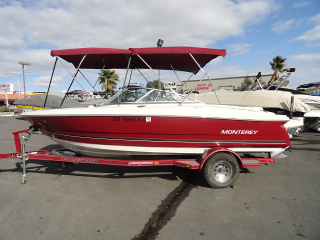 2006 Monterey 180 FS Montura! Super clean, very versatile boat!
