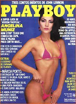 Angelina Muniz - Fotos Playboy 1985