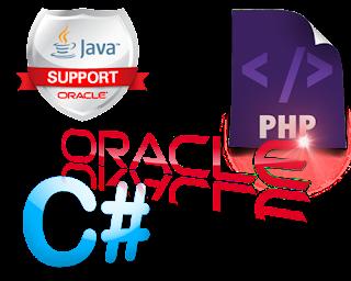 koneksi Oracle Java php C# C sharp
