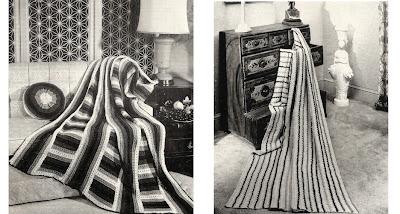 Diagonal Crochet Afghan Pattern - Online Crochet Instruction