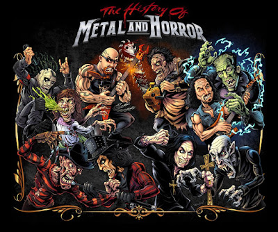 The History of Metal and Horror