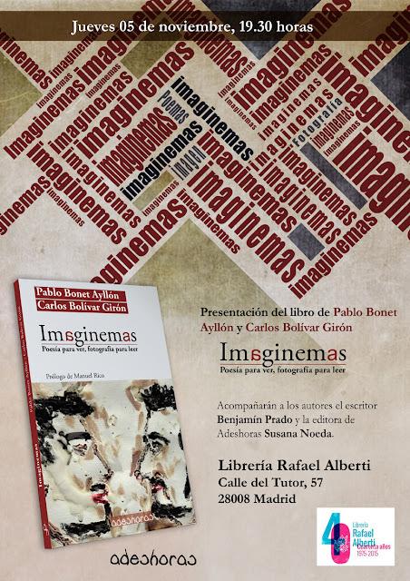 Presentación Imaginemas en Rafael Alberti - Benjamín Prado