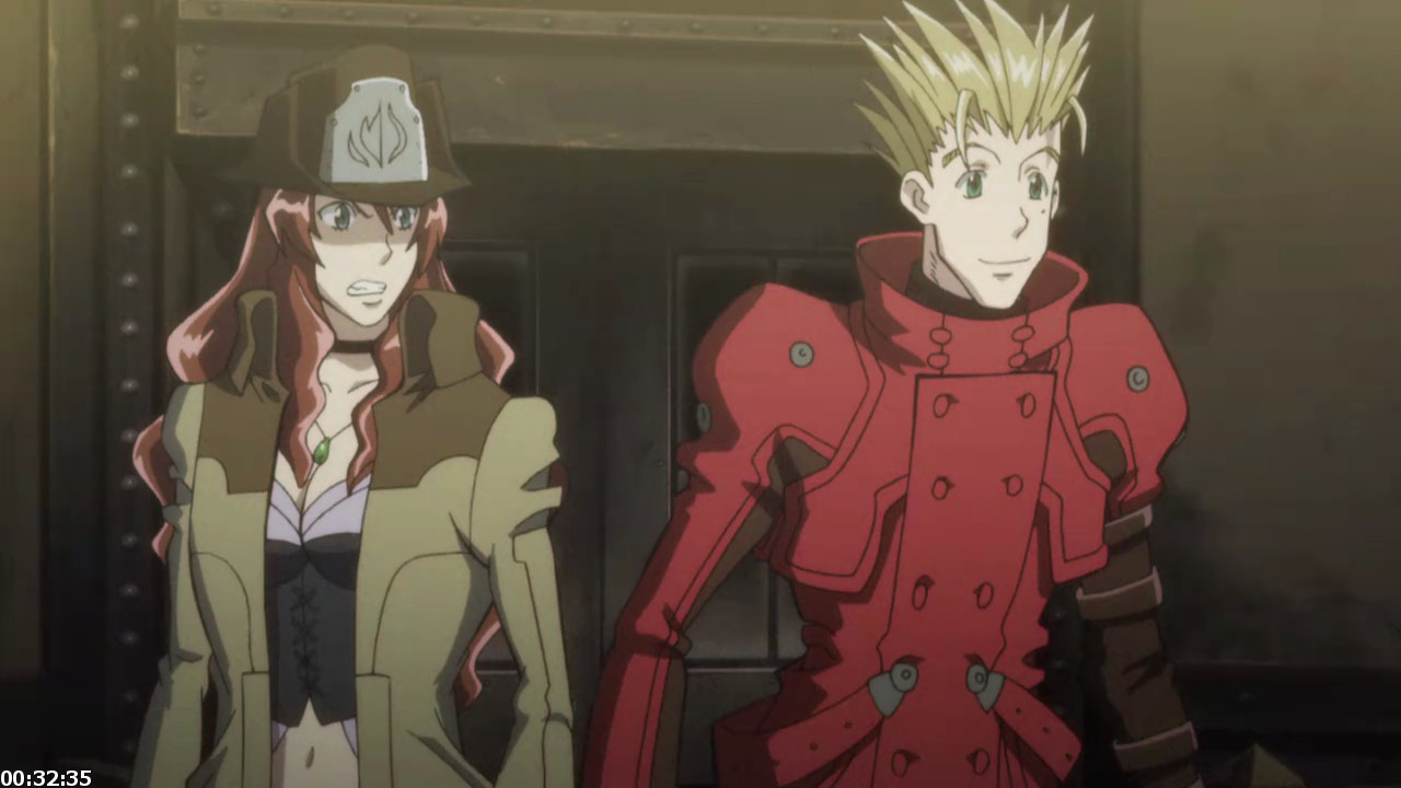 Trigun Badlands Rumble [BrRip 720p] [Castellano - Japones] [Mkv] [DF-UL]