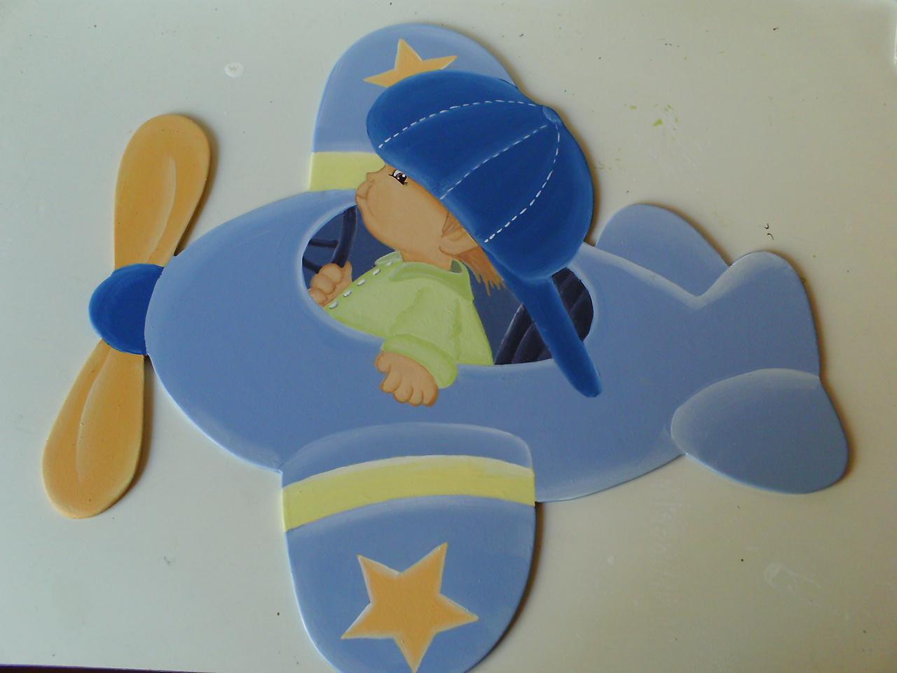 elianeartdecor Quarto de bebê menino no avião