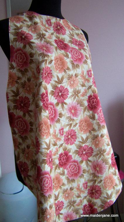Sexy bib apron pattern