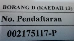 No pendaftaran syarikat