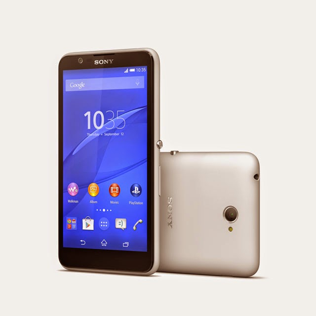 Sony Umumkan Peranti Mampu Milik Sony Xperia E4