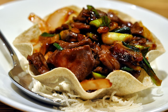 Mongolian Beef - The Noodle Shop - Mandalay Bay - Las Vegas, NV | Taste As You Go