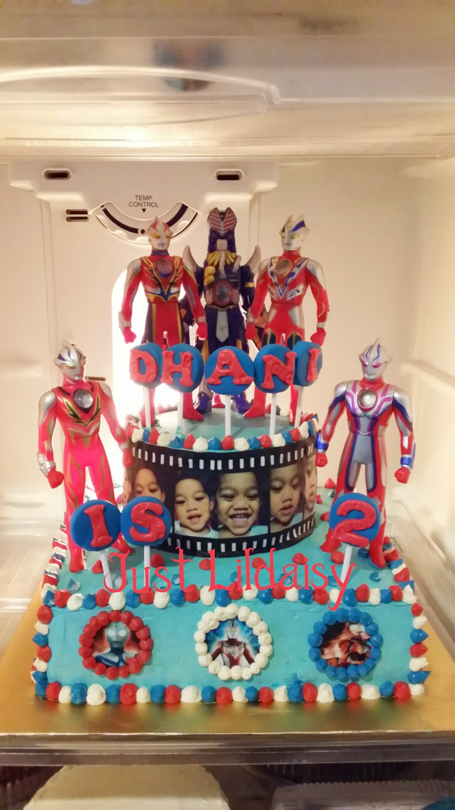 Just Lildaisy Ampang Ultraman theme birthday cakecome to our