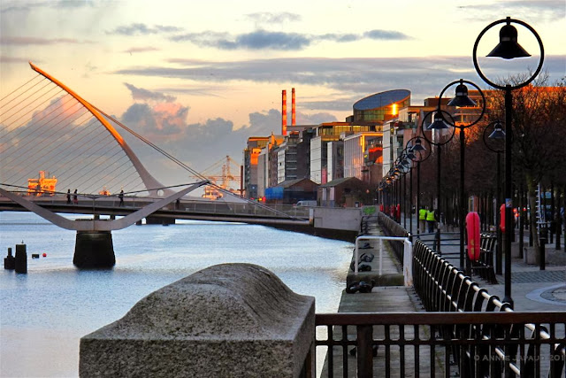 Dublin city © Annie Japaud 2013, photography, sunset, walking, tourist