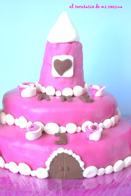 tarta castillo de ane