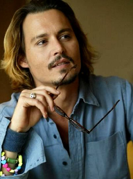 Johnny Depp Hairstyle 15