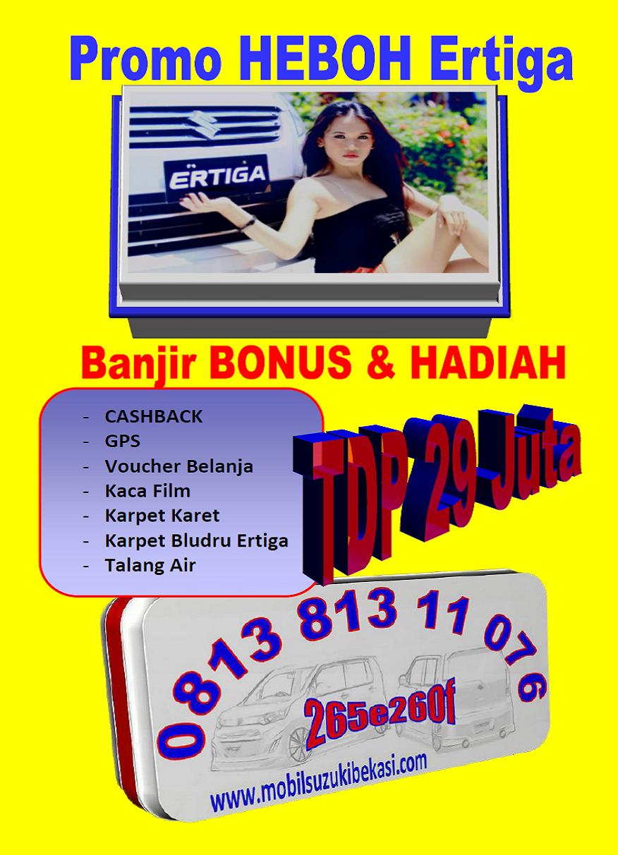 Promo Heboh Suzuki Ertiga Bekasi 2014