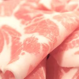 秋田産の豚しゃぶ