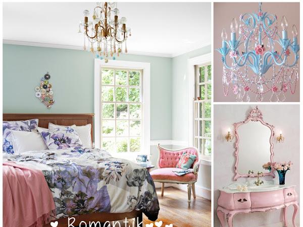Dekorasyon | Romantik ve Vintage Yatak Odaları