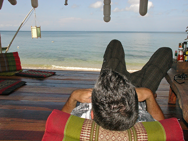 Bar de plage au Coco Lanta Resort à Koh Lanta