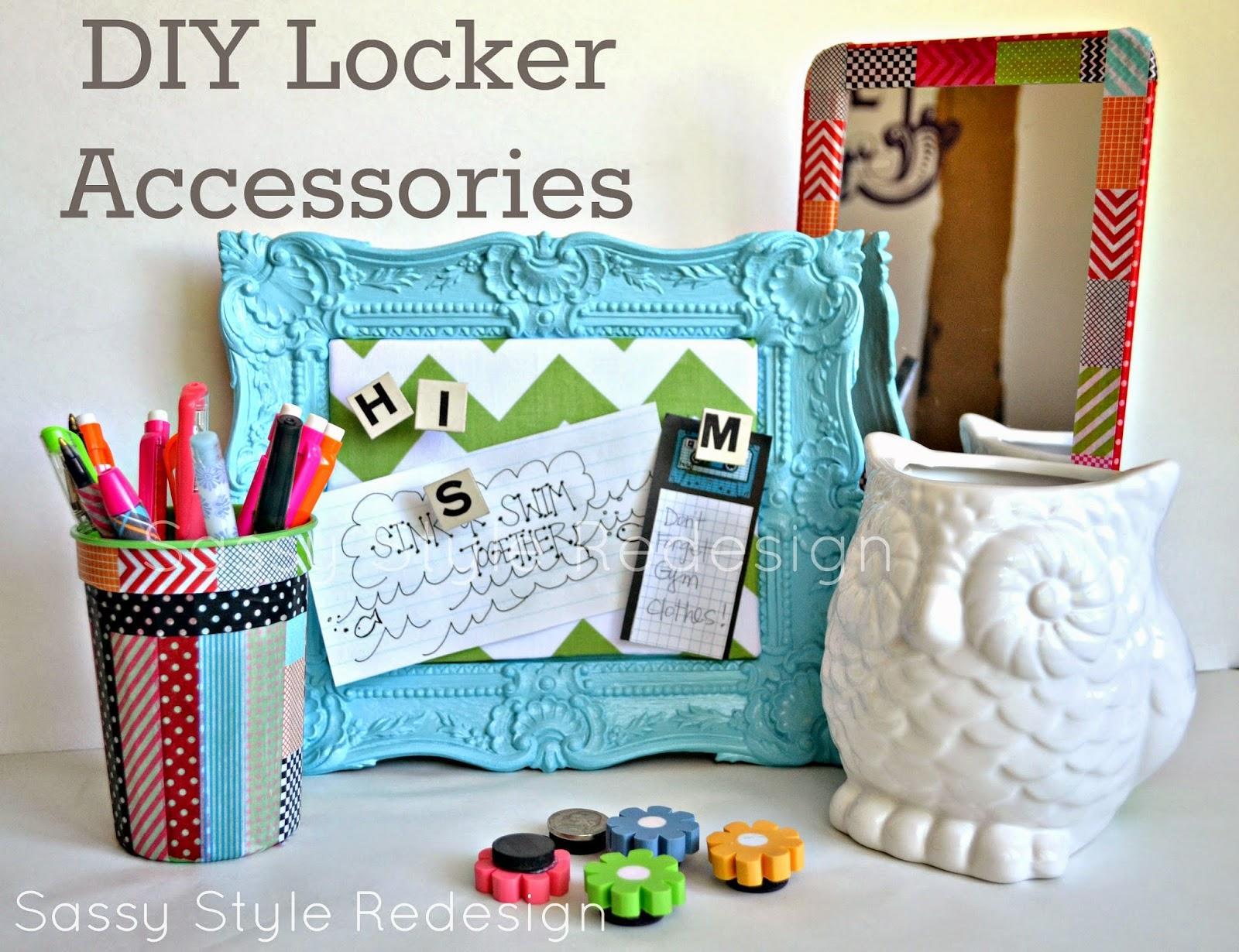 DIY School Locker Decorations  Hazel & Ruby Blog