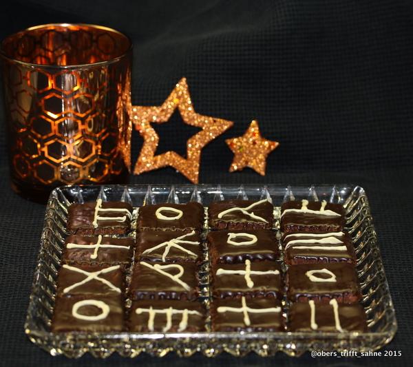 Schokolade Kokos Plätzchen