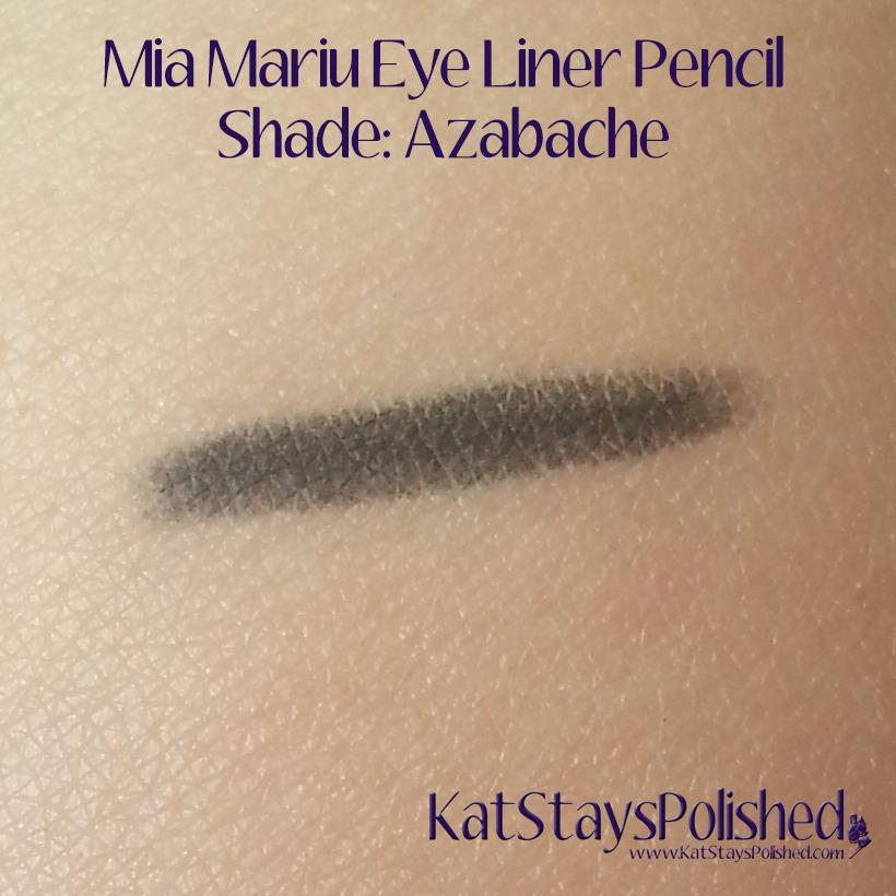 Mia Mariu Eye Liner Pencil - Azabache | Kat Stays Polished