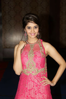 Actress Surabhi Picture in Long Dress at uva Audio Launch 26