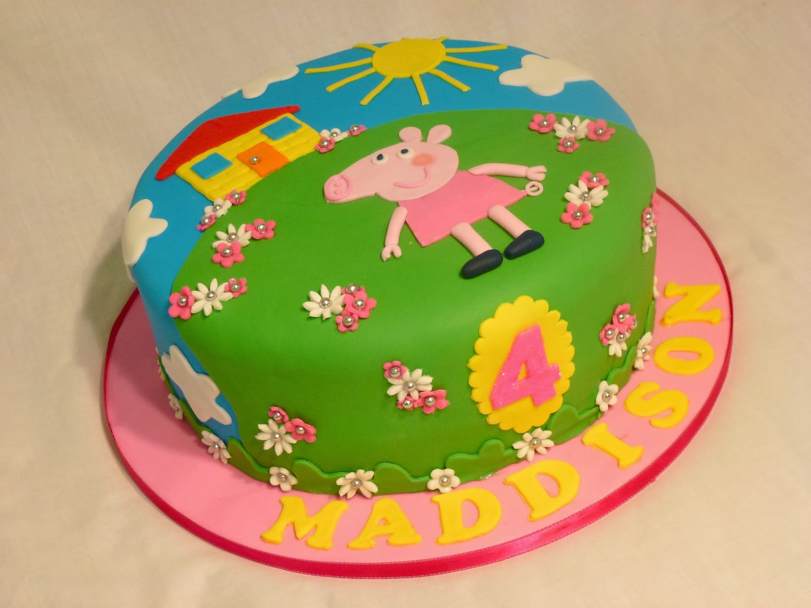 Cakes And Other Delights Peppa Pig