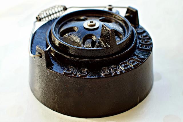 restore cast iron daisy wheel big green egg repair fix maintenance