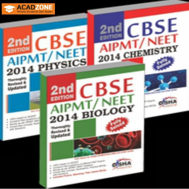 Crack CBSE AIPMT NEET Medical Entrance 2014 set of 3 books-PCB 2nd Edition