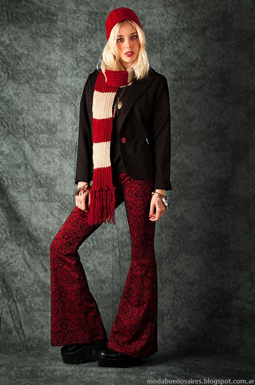 Pantalones de oxford de moda invierno 2015 Mondiu.