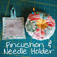 Pincushion &amp; Needle Holder