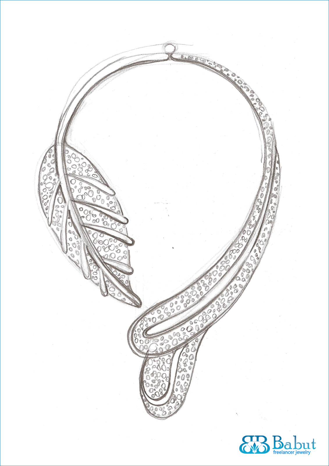 Sketch Jewelry - Babut Florin - Valentin: sketches jewelry design