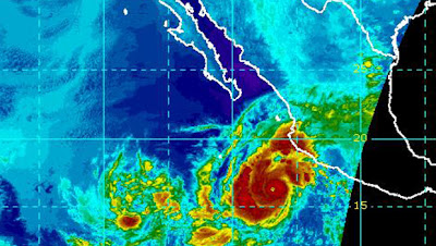 >Powerful Hurricane Jova set to bring life-threatening wind and rain to western Mexico, More heavy rains move up US East Coast