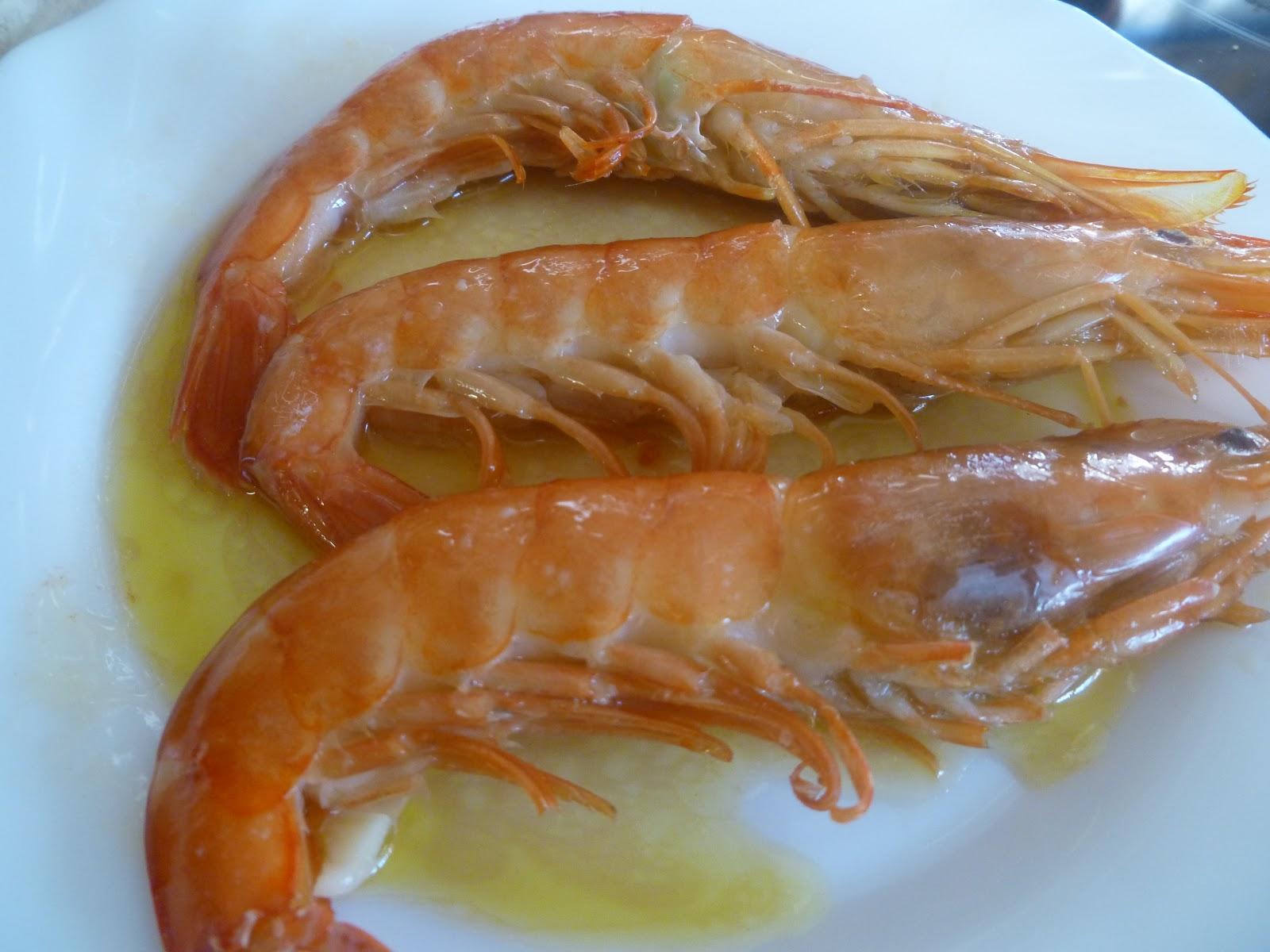 La cocina de piluchi paso a paso langostinos o gambones for Langostinos al horno