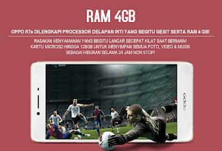 RAM 4GB & Processor Delapan Inti