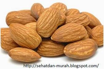 Si renyah almond yang beraneka manfaat