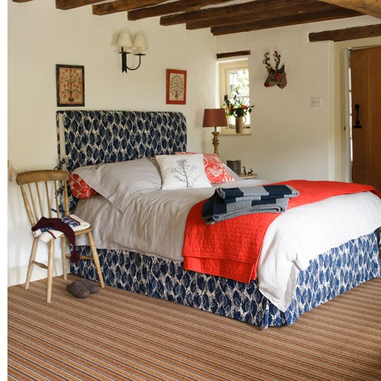 Country Home ·  96_00001043e_f486_orh550w550_2 Blue And Red Bedroom  Country  Country