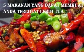 5 Makanan Yang Dapat Membuat Anda Terlihat Lebih Tua