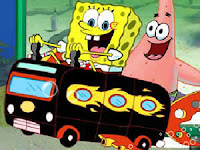 Atlantis Squarepants Bus Rush
