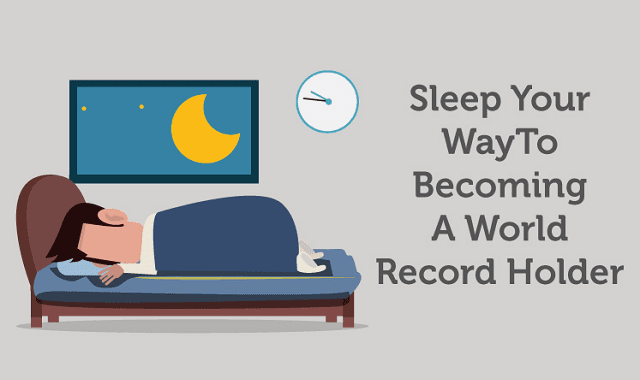 Sleep Your Way To Becoming A World Record Holder