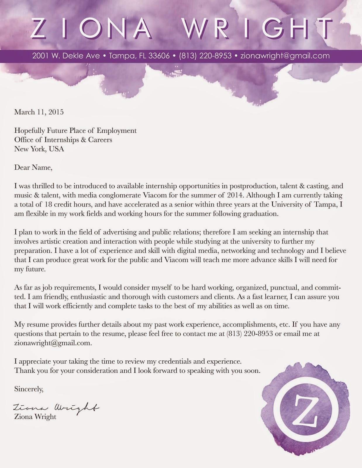 Land Economist Cover Letter - sarahepps.com -