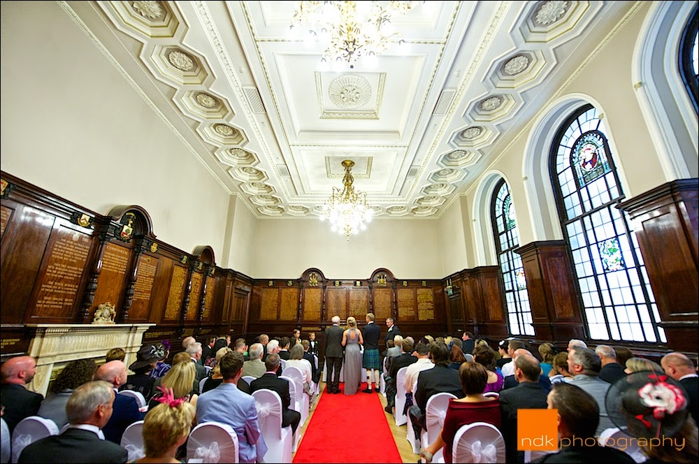 The Trades Hall Glasgow Wedding Photography