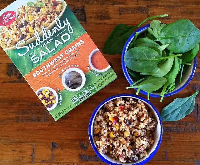 #MealPrep Made Easy With Betty Crocker's Suddenly Grain Salad
