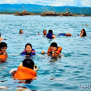 aktivitas snorkeling yang menyenangkan