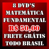 08 DVD's Matemática Fundamental