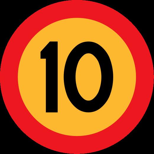 El que llega a 1.OOO gana!!! ^^  521px-10-skylt%252C_Swedish_roadsign_svg