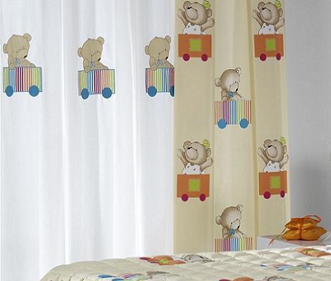 Disenyoss decoracion todo cortinas - Cortinas para dormitorios infantiles ...