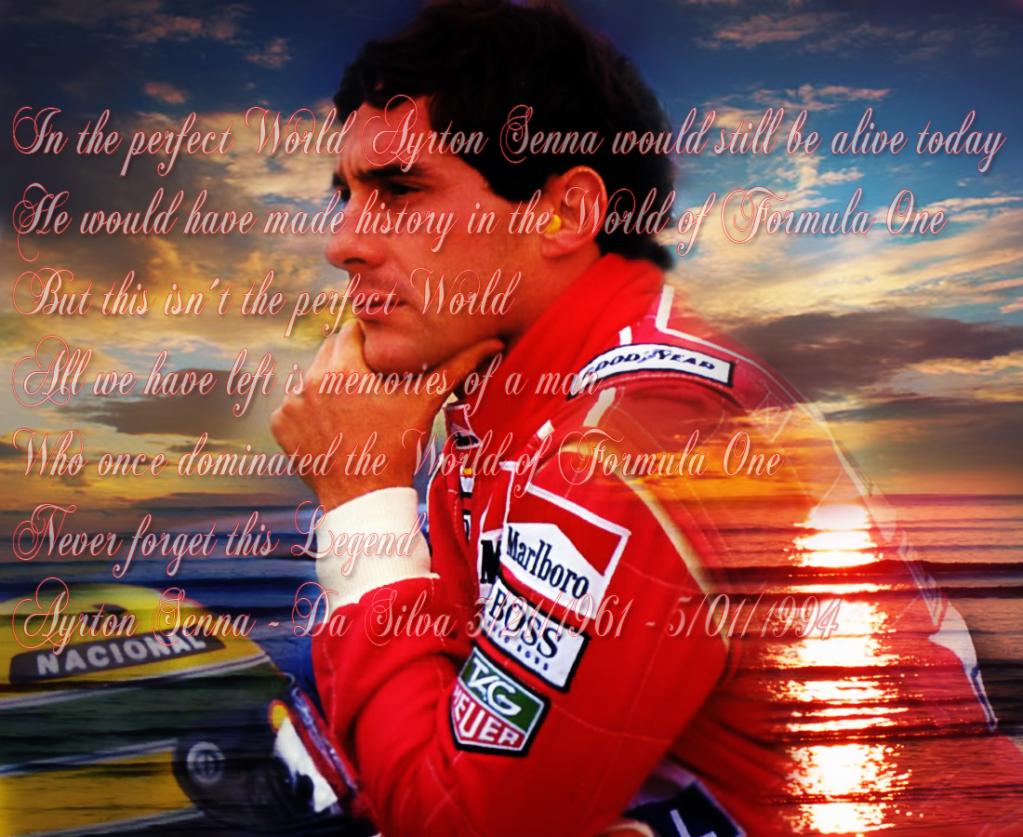 Imagenes de Ayrton Senna