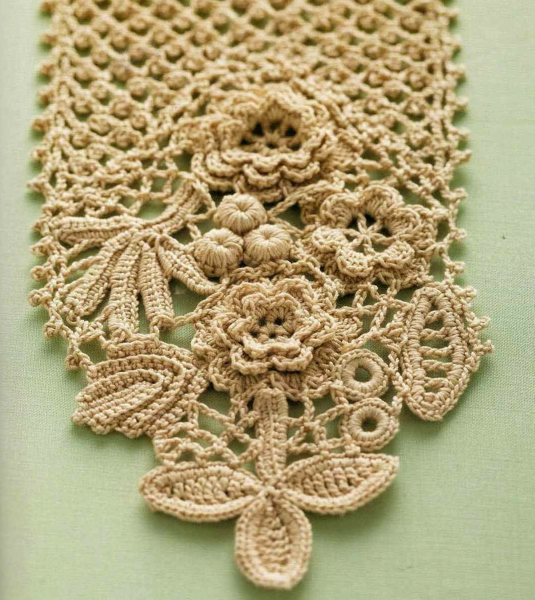 Crocheting Lace For Beginners : CROCHET IRISH LACE Crochet For Beginners