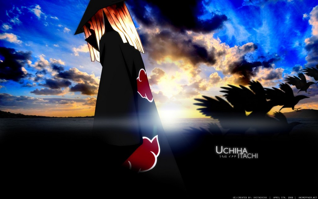 Itachi Uchiha Go Away Wallpaper